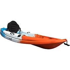 Bote de kayak plástico naranjo 1 persona