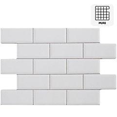 Cerámica 34X50 cm Oxford blanco 2,38 m2