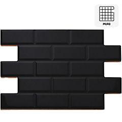 Cerámica 34X50 cm Oxford negro 2,38 m2