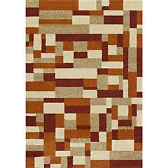 Alfombra Portland naranjo 200x300 cm