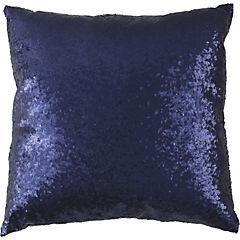 Cojín Lentejuela azul 45x45 cm
