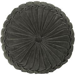Cojín Velvet gris 40x10 cm