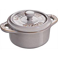 Mini cacerola 10 cm gris