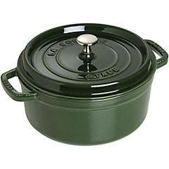 Cacerola fierro 24 cm 3,8 litros Verde