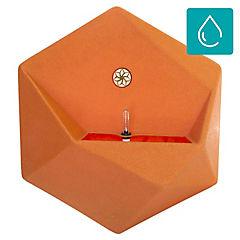 Macetero panal autoregante naranjo 47x54 cm