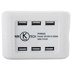 Multicargador USB rápido para celular
