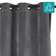 Cortina Velvet 135x220 cm gris