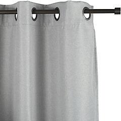 Cortina Cuadros 200x220 cm gris