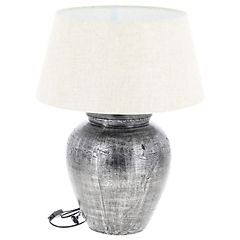 Lámpara de mesa jarrón cerámica 1 l 60 W