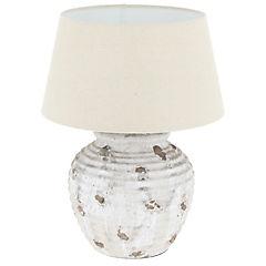 Lámpara de mesa jarrón mármol 1 l 60 W