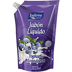 Jabón líquido 1 litro bolsa