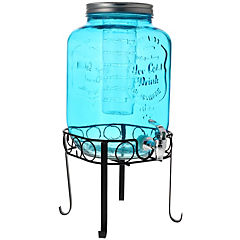 Dispensador de agua vidrio 8 litros transparente