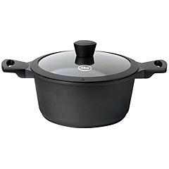 Batería de cocina 7 piezas aluminio fundido Negro