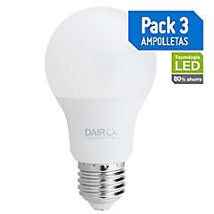 Set de ampolletas LED E-27 80 W Cálida 3 unidades