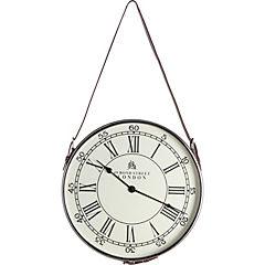 Reloj colgante 70x41x5 cm niquelado