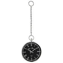 Reloj colgante 46x36x6 cm niquelado
