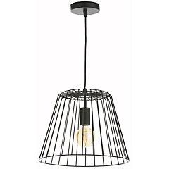 Lámpara colgante Hang negra 1 l E27 60 W
