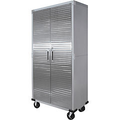 Locker doble metálico  ruedas 91x45x183 cm