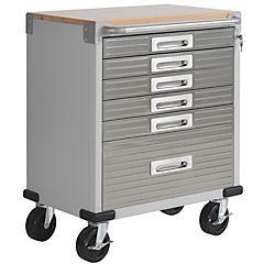 Gabinete 88x71x46 cm metal gris