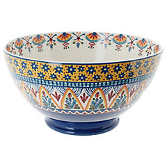 Bowl 25 cm azul amarillo