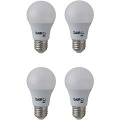 Pack de ampolletas LED E-27 40 W Cálida 4 unidades