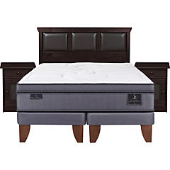 Cama europea super premium king torino s/t