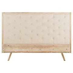 Respaldo para cama 120x170x7 cm blanco