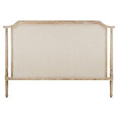 Respaldo para cama 124x170x7 cm Blanco