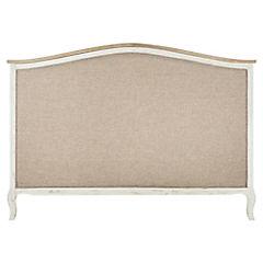 Respaldo para cama 120x170x6 cm Blanco