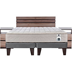 Cama Europea King Base Dividida + Muebles Ares