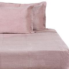 Quilt Velvet rosa 2 plazas