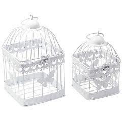 Set de 2 jaulas butterfly