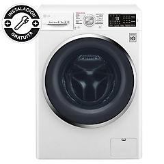Lavadora secadora frontal 9 kg 5 kg blanco
