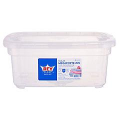 Caja 14 litros Transparente