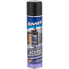 Limpiador en spray para acero inoxidable 400 ml