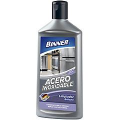 Limpiador líquido para acero inoxidable 500 ml botella
