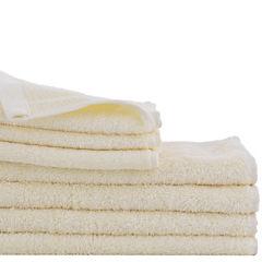 Juego de toallas de baño y mano 450 gr 2 unidades beige