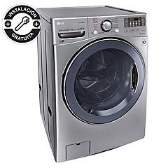 Lavadora secadora frontal 20 kg 11 kg gris