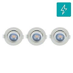 Pack de spots LED 5 W 3 unidades