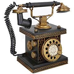 Teléfono decorativo 20x19x12 cm metal