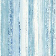 Láminas autoadhesivas Reutilizables acuarela azul 52x503 cm