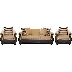 Juego de Living sofá 2 cuerpos + 2 sillones