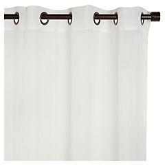 Set de cortinas Ámbar 220x140 cm 2 paños crudo