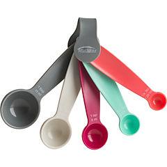 Juego de cucharas medidoras plástico 5 piezas