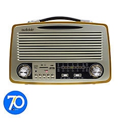Radio Retro bluetooth FM/AM USB