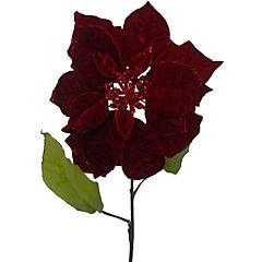 Flor artificial 63 cm plástico Rojo