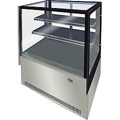 Vitrina refrigerada pastelera 375 litros Gris