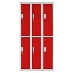 Locker Officelock OL3-02 llave rojo