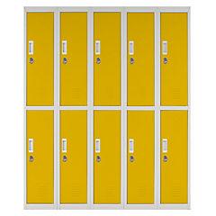 Locker acero 10 puertas con llave