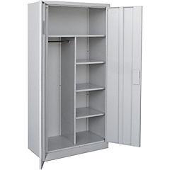 Locker closet 2 puertas cerradura españoleta